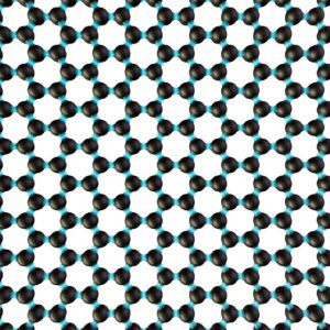 carbon-atom-arrangement-in-a-graphene-film